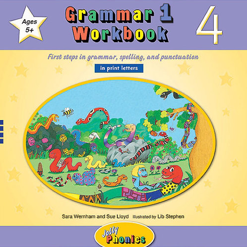 Grammar 1 Workbook 4 (in print letters)