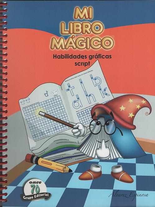 Mi libro mágico: Habilidades Gráficas Script