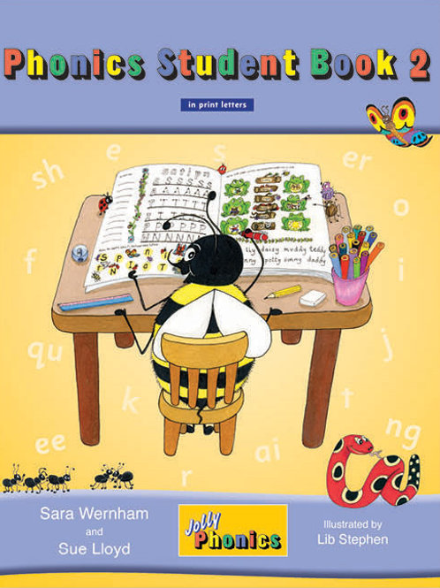 Jolly Phonics Student Book 2 (color edition)