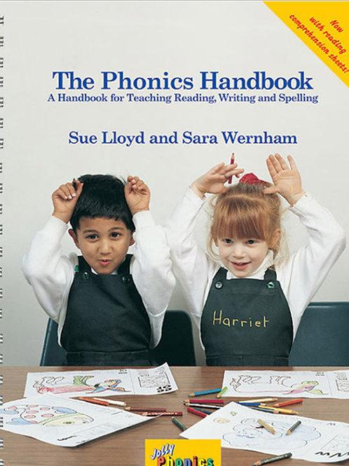 The Phonics Handbook (in precursive letters)