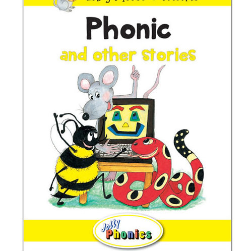 Jolly Phonics Paperback Readers, Level 2 Inky Mouse & Friends (in precursive let