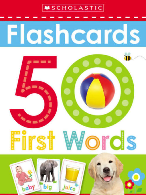 Scholastic Early Learners: Flashcards: 50 First Words