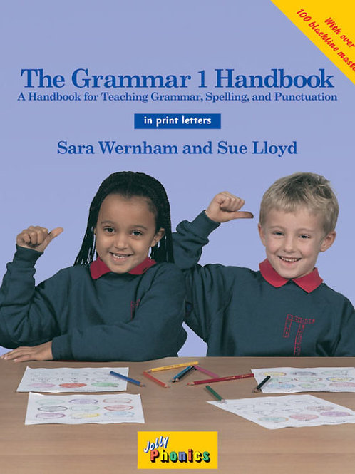 The Grammar 1 Handbook (in print letters)