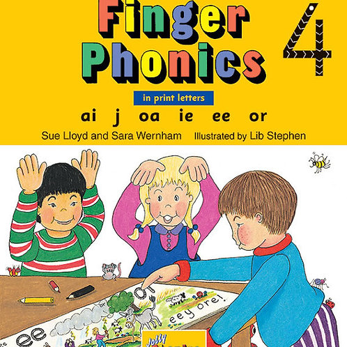 Finger Phonics Book 4
