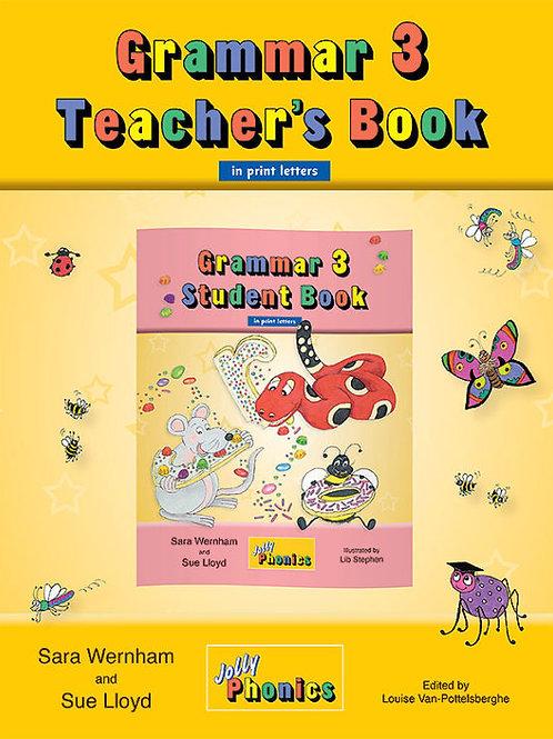 Grammar 3 Teacher's Book (in print letters)