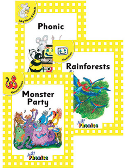 Jolly Phonics Readers Level 2 Complete Set (in print letters)