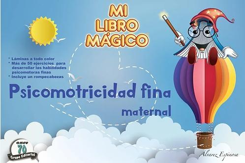 Mi libro mágico: Psicomotricidad fina maternal