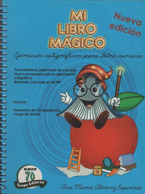 Mi libro mágico: Ejercicios caligráficos cursiva