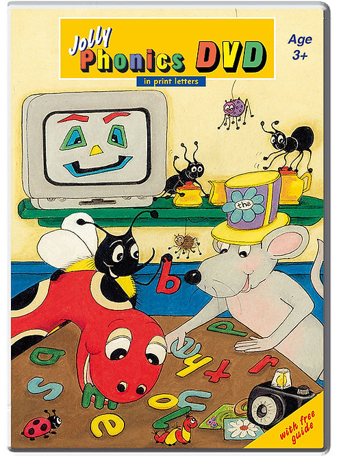 Jolly Phonics DVD (in print letters)