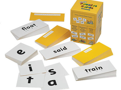 Jolly Phonics Cards (in print letters)