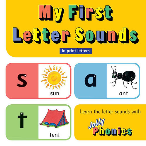 My First Letter Sounds (in print letters)