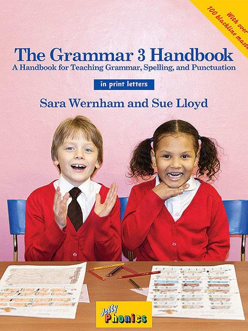 The Grammar 3 Handbook (in print letters)