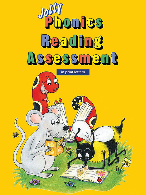 Jolly Phonics Reading Assessment (in print letters)