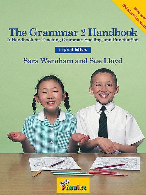 The Grammar 2 Handbook (in print letters)