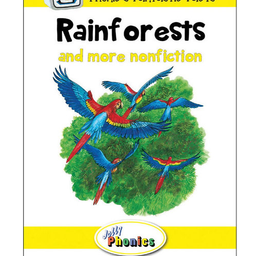 Jolly Phonics Paperback Readers, Level 2 Phonic's Fantastic Facts (in precursive