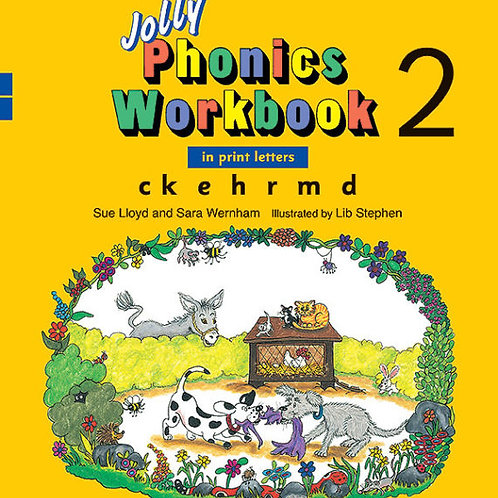 Jolly Phonics Workbook 2 (in print letters)
