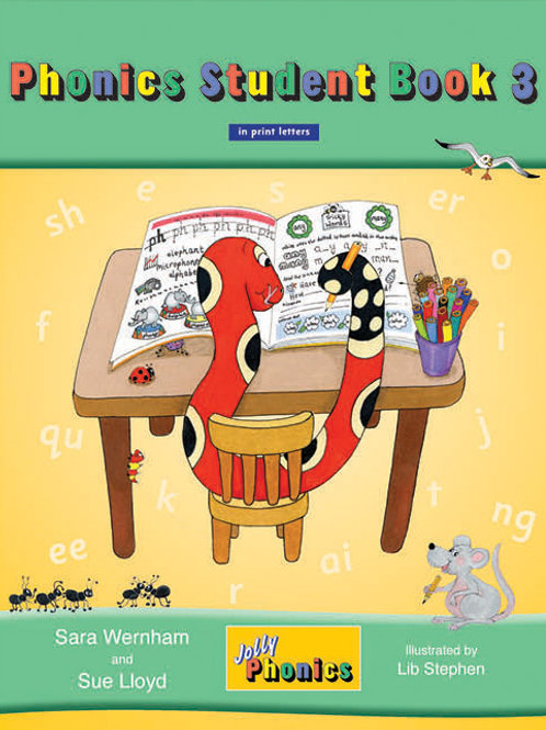 Jolly Phonics Student Book 3