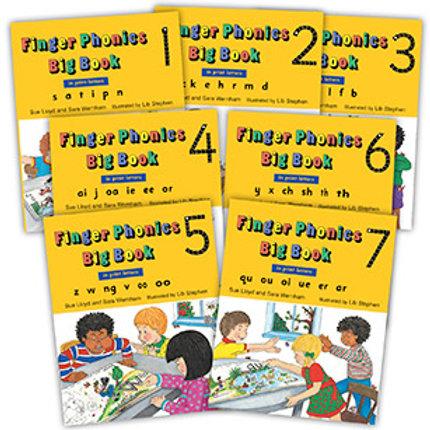 Finger Phonics Big Books 1–7