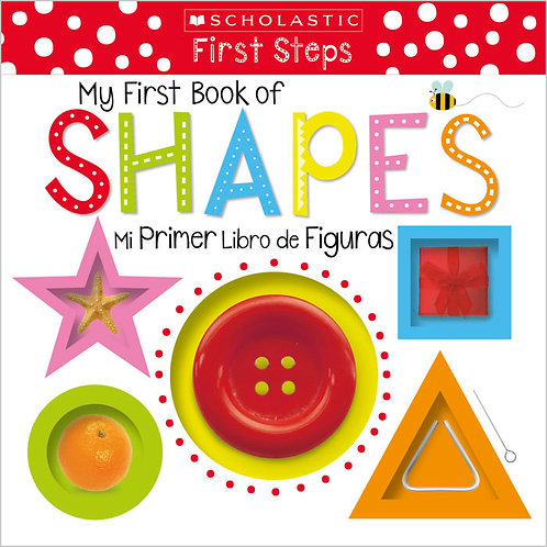 Scholastic Early Learners: My First Book of Shapes (Bilingual)