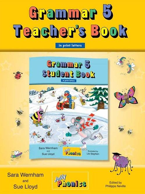 Grammar 5 Teacher's Book (in print letters)
