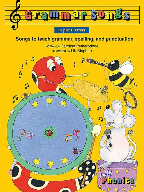 Grammar Songs (in print letters)