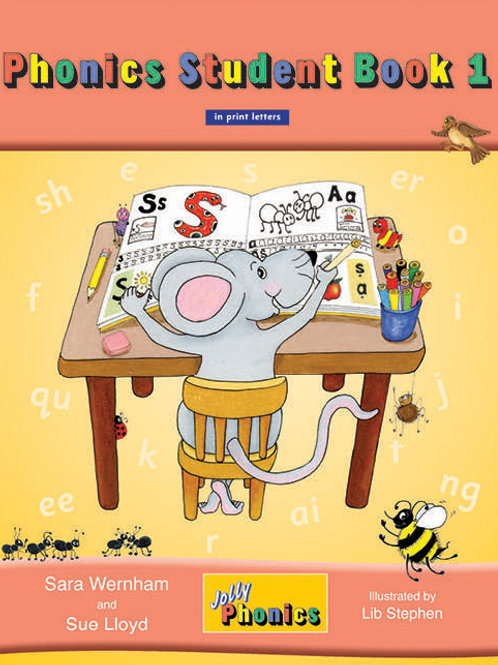 Jolly Phonics Student Book 1 (color edition)