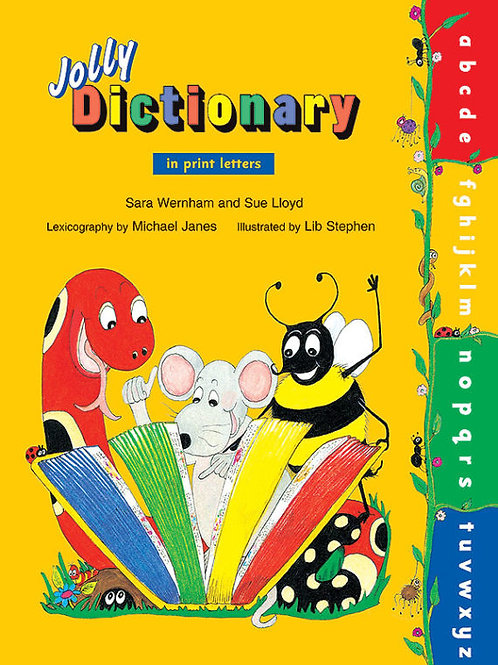 Jolly Dictionary (paperback edition in print letters)