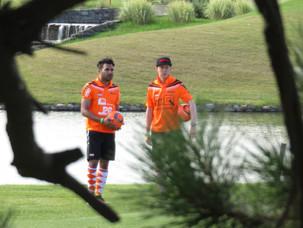 Wisselende start voor het Nederlands FootGolf Team