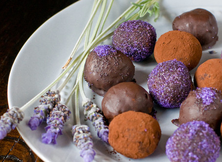 Lavender & Ganja Chocolate Truffles