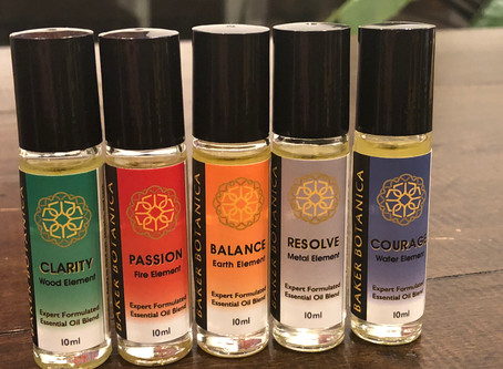 Finally! 5 Element Essential Oil Blends
