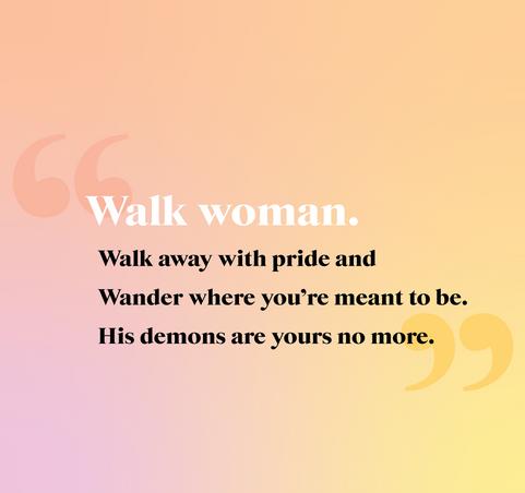 WALK WOMAN