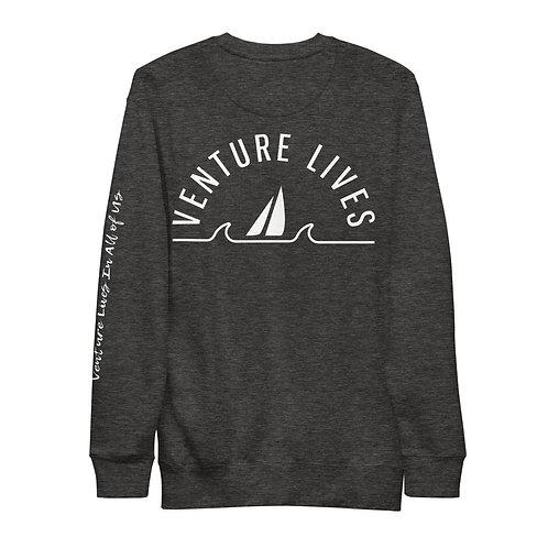 Venture Lives Crew Fleece Pullover