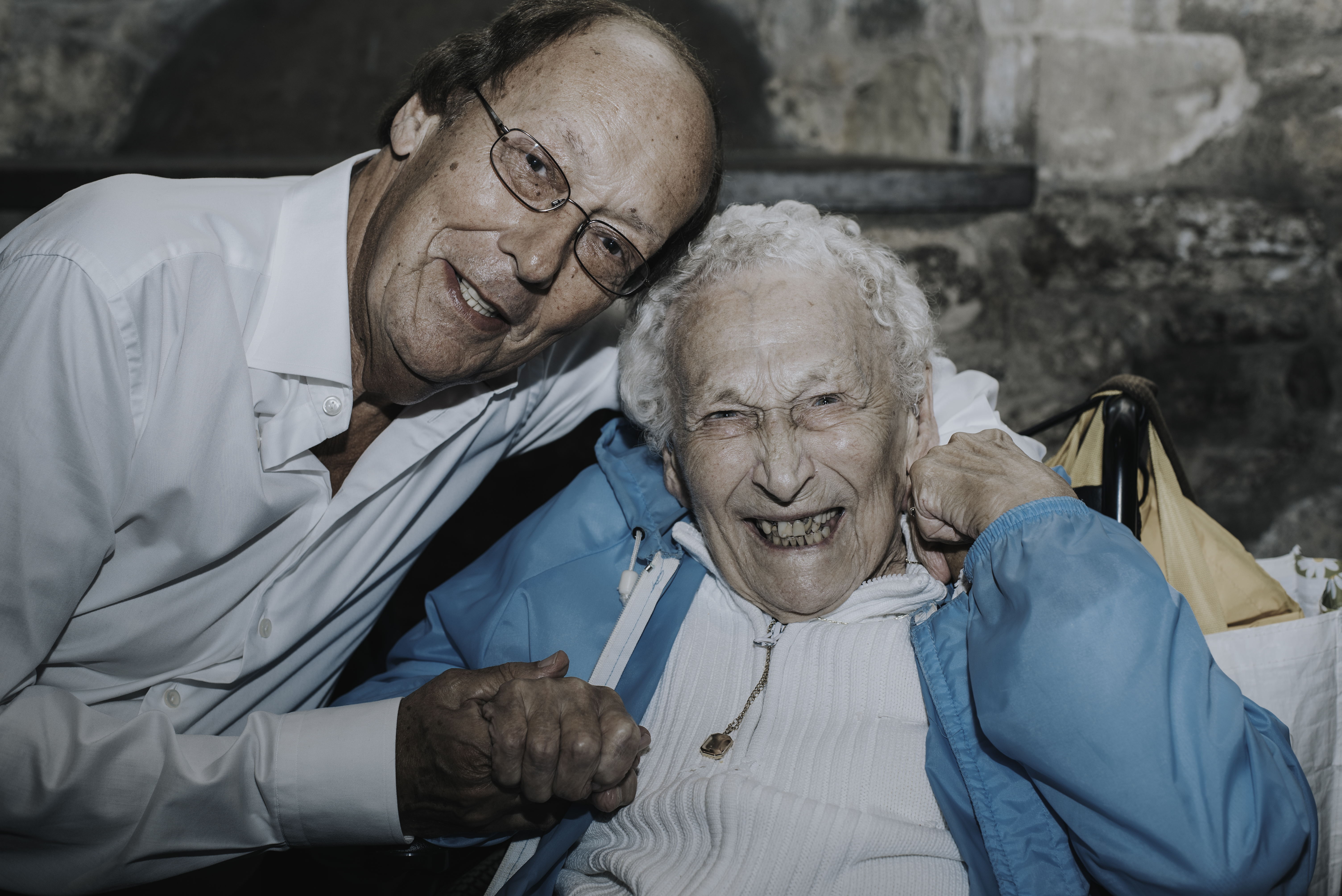 Fred Dinenage and fan