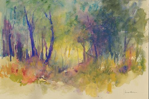 La forêt jaune