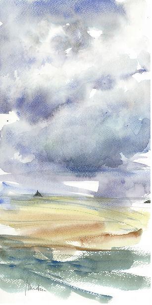 ciel nuageux sur le Mont.JPG