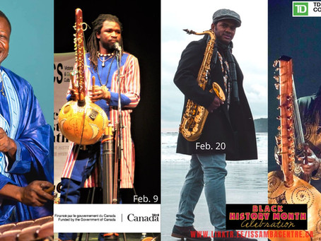 Issamba Centre is Celebrating Black History Month