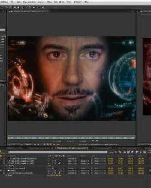 adobe after effects software interface