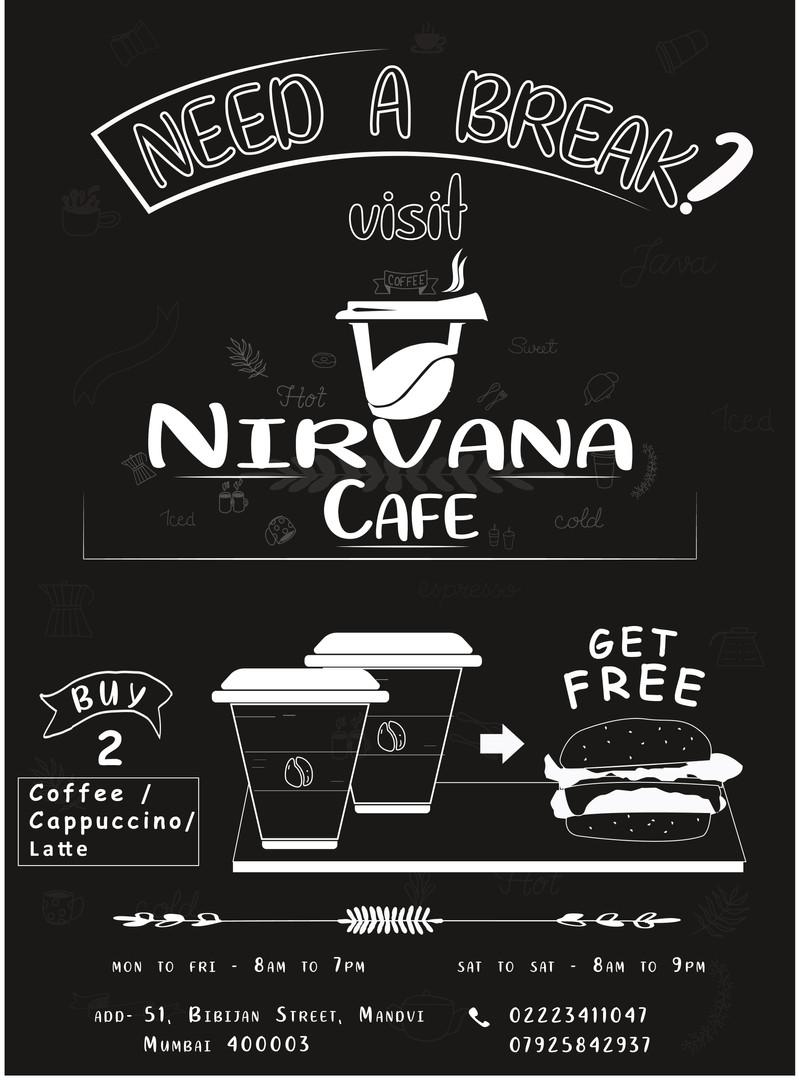 Cafe Poster Design