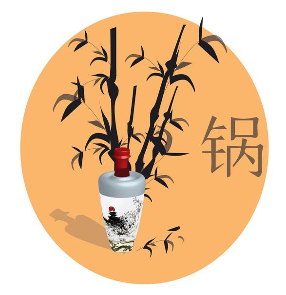 3D Chinese Pot