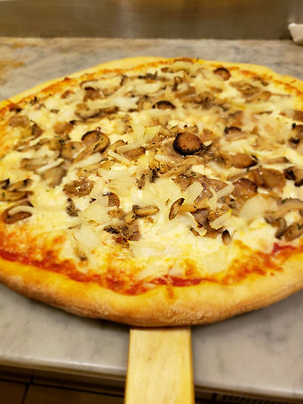 Sausage Onion Pizza