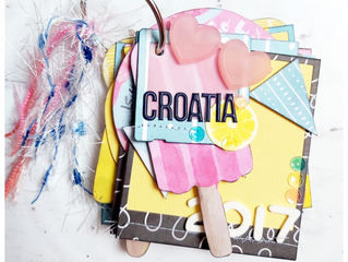 Croatia Mini book | Terri Morris