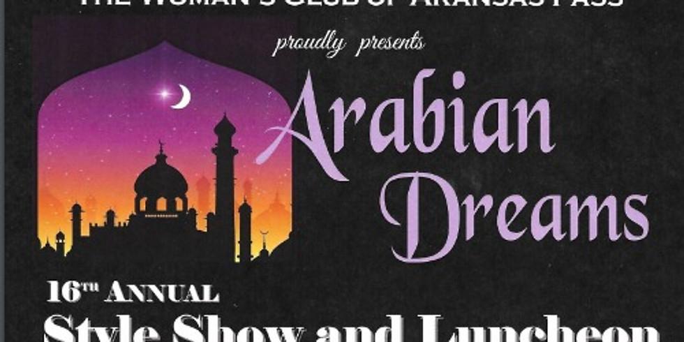 Arabian Dreams - 16th Style Show & Luncheon