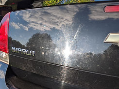 Impala Car paint swirl