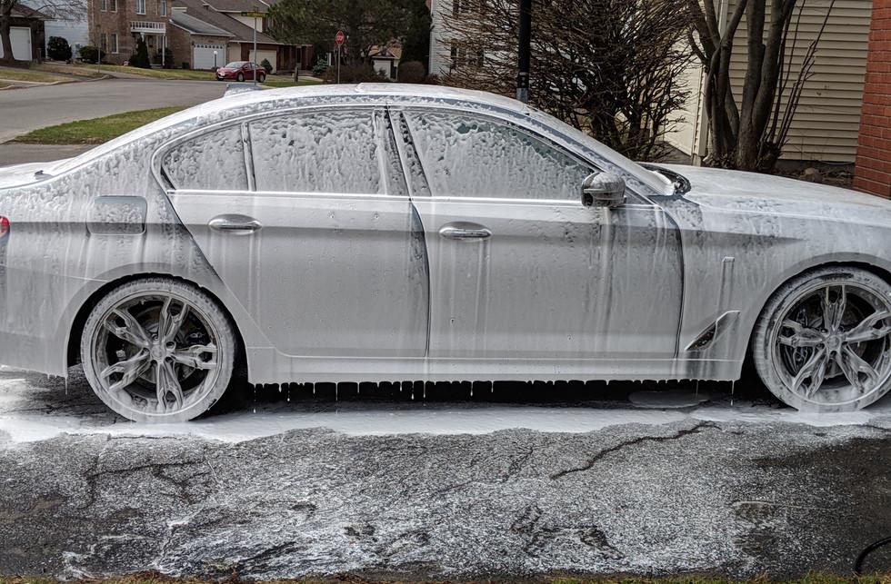 BMW Foam Wash