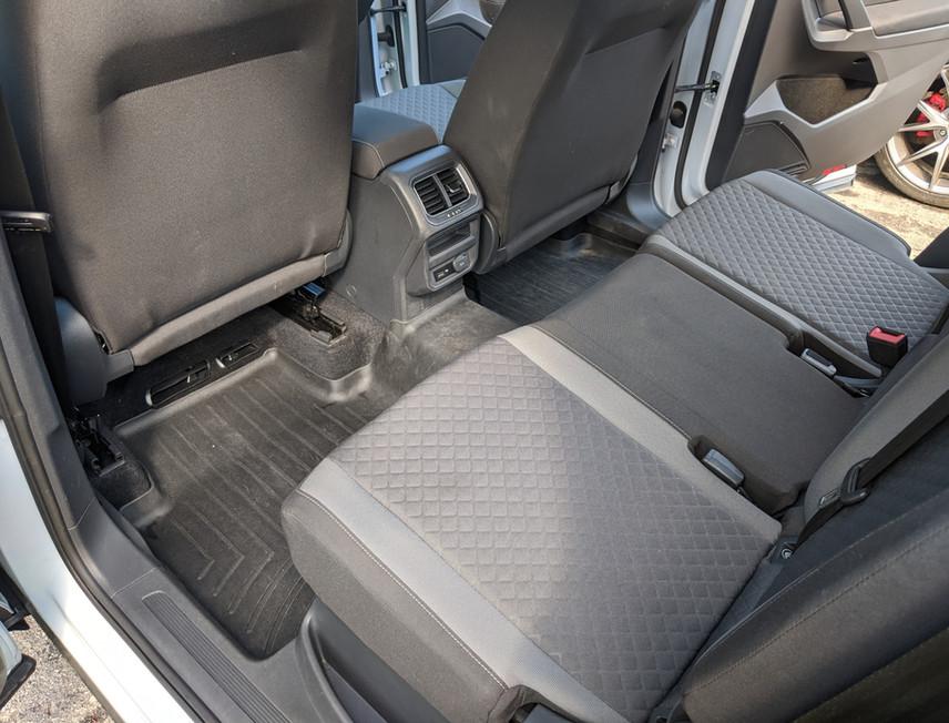 Tiguan Interior Rear Clean