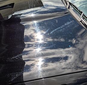 Camaro hood swirls