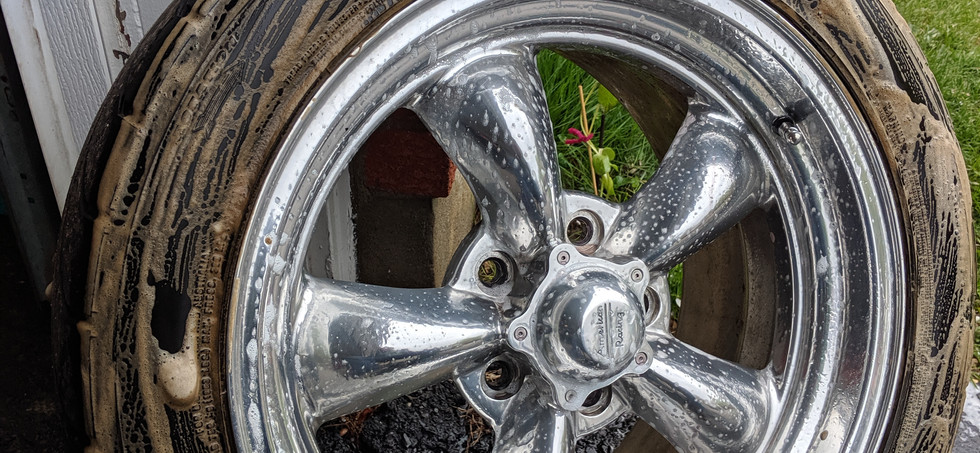 Wheels Off Cleaning