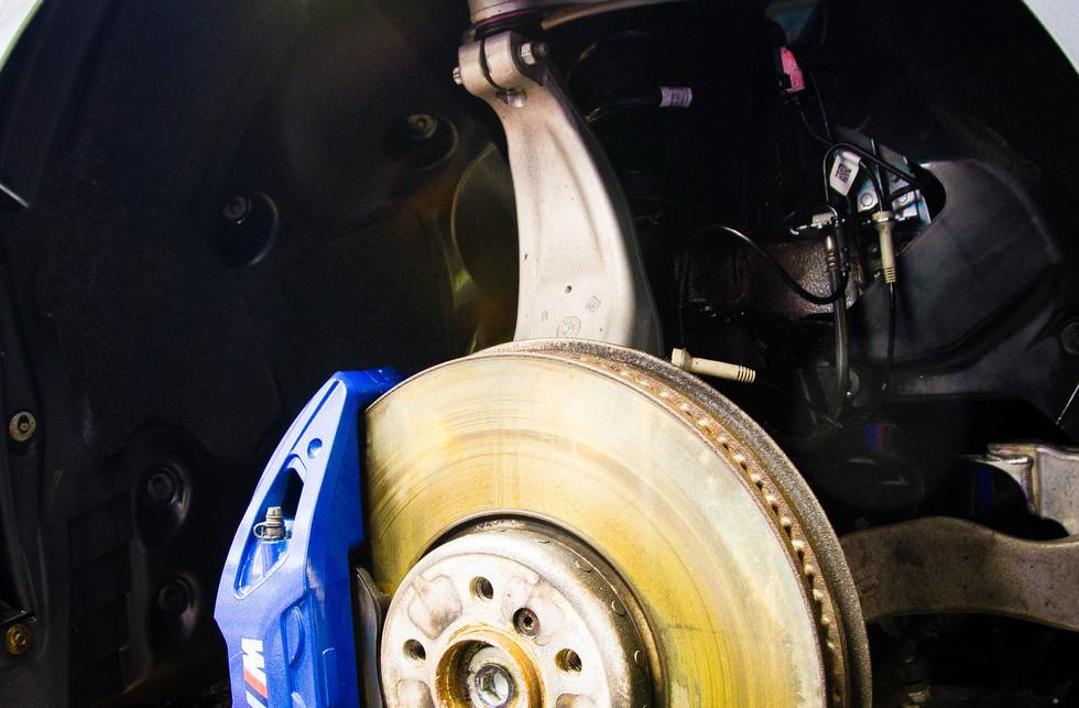 BMW Wheel Well Before