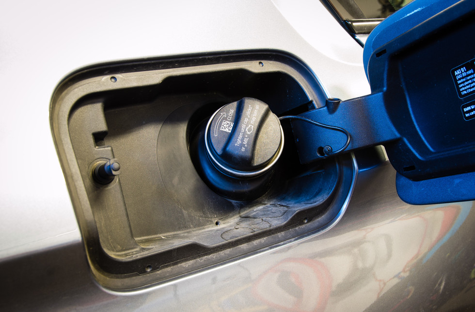 BMW Gas Cap Before
