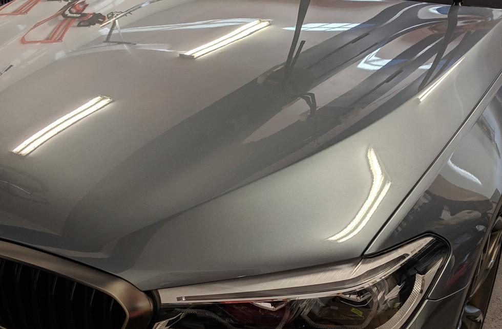 BMW Polished Hood